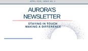 AURORA NEWSLETTER APRIL 2019
